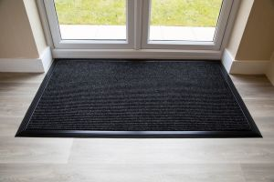 Anthracite Entrance ADEM Mat Custom-fit RUBBER EDGE