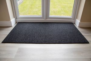 Anthracite Brush Mat Made to Measure