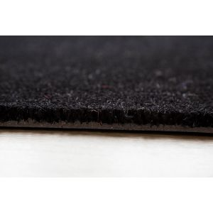 17mm Coir matting - Black - 80cm x 120 cm