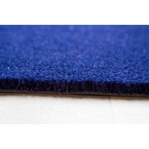 17mm Coir matting - Blue - 90cm x 60 cm