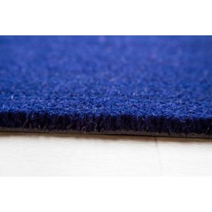 17mm Coir matting - Blue - 70cm x 180 cm