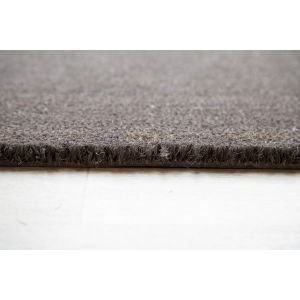 Grey Entrance Coir Mat 40cm x 60cm