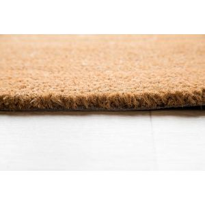 17mm Coir matting - Natural - 33cm x 60 cm