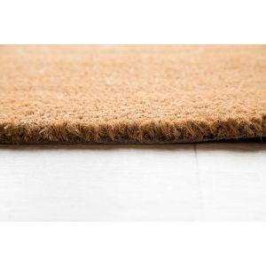 17mm Coir matting - Natural - 80cm x 120 cm