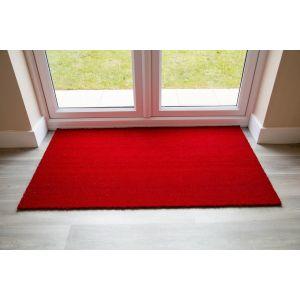 17mm Coir matting - Red - 33cm x 60 cm