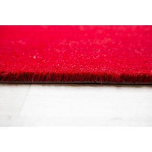 17mm Coir matting - Red - 100cm x 200 cm