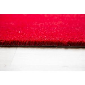 17mm Coir matting - Red - 80cm x 120 cm