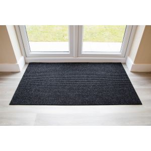 Adem Rib Matting 11mm Thick-Anthracite-150 cm x 85cm