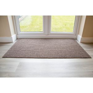 Adem Rib Matting 11mm Thick-Brown-85cm x 150cm