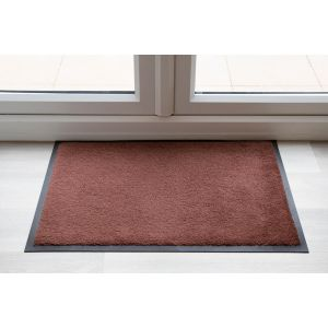 Brown Entrance Throwdown Mat 85cm x 60cm