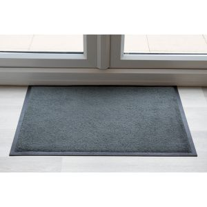 Smokey Mount Grey Throw Down Matting 9mm 150 cm X 85 cm
