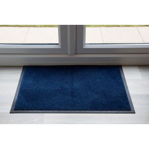Navy Blue Entrance Throwdown Mat 150cm x 85cm